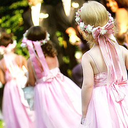 Awe Inspiring Flower Girls And Floral Headbands Truly Engaging Wedding Hairstyles For Women Draintrainus
