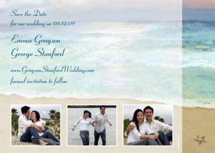 beach wedding invitations. each wedding invitations…