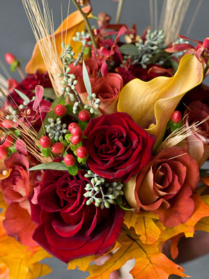 Beautiful Fall Bouquets Truly Engaging Wedding