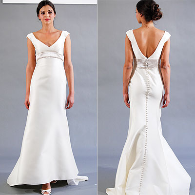Wedding Dress on Backless Wedding Gowns Engaging Wedding Blog   Second Wedding Dresses